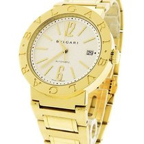Bulgari BB 33 GG  33mm in Yellow Gold - on Yellow Gold...