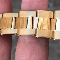 Rolex Bracciale rivettato riveted bracelet Oro Gold Daytona