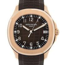 百達翡麗 (Patek Philippe) Aquanaut 18k Rose Gold Bround Automatic...