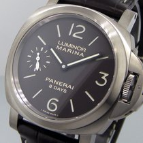 Panerai Unworn  Pam 564  Luminor Marina 8 Days Titanio Brown...