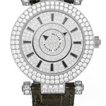 Franck Muller Double Mystery Ronde 18K White Gold, Diamonds...