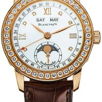 Blancpain Leman Ladies Moonphase & Complete Calendar 34mm...