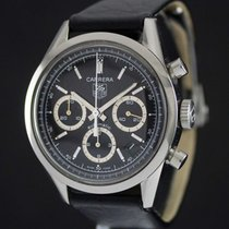 TAG Heuer Carrera Chrono Steel Black Dial