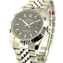 Rolex Unworn 116264 Mens Steel Turn-O-Graph - Steel Jubilee...