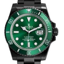 Rolex Submariner Green 116610LV DLC-PVD
