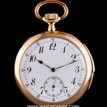LeCoultre 18k Rose Gold Open Face Quarter Repeater Pocket Watch