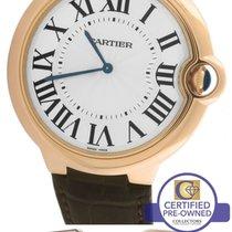 Cartier Ballon Bleu 46mm Mechanical W6920054 3376 18K Rose Gold