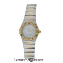 Omega Ladies Omega Constellation My Choice 22mm 18K Yellow Gold