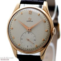 Omega Vintage Jumbo Gentleman Watch Ref-2620 18k Rose Gold...