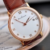 Blancpain VILLERET ULTRAPLATE WITH DIAMONDS