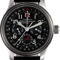 Zeno-Watch Basel NC Pilot GMT Full Calendar