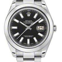 Rolex Datejust II 41MM Black Stick Dial 116300
