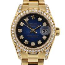 Ρολεξ (Rolex) Datejust 179158  Gold Diamond Dial Ladies...