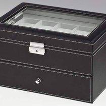 Rothenschild Uhrenbox schwarz für 20 Uhren RS-1683-20BL