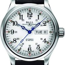 Ball Trainmaster 60 Seconds Automatik NM1058D-L3J-WH