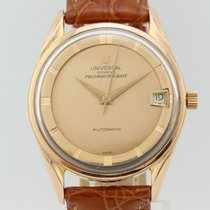 Universal Genève Polerouter Date Automatic Gold