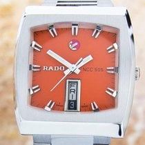Rado Ncc 505 Rare Day Date Stainless Steel Men Automatic...
