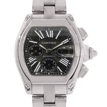 Cartier Roadster XL 2618 Black Chronograph Dial Watch