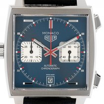 TAG Heuer Monaco Steve McQueen Calibre 11 Chronograph Stahl...