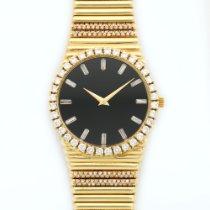 Piaget Yellow Gold Emperador Diamond Watch Ref. 12336