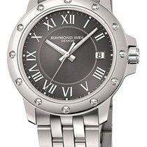 Raymond Weil Tango Stainless Steel Mens Watch Grey Dial...