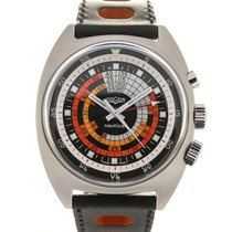 Vulcain Nautical Seventies 42 Orange Black L.E.