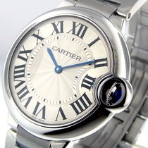 Cartier Ballon Bleu W69011z4 37 Mm Midsize Quartz Stainless Steel
