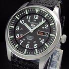 精工 (Seiko) SEIKO SNZG15 Sport 5 Military Pilot 7S36 Army Watch