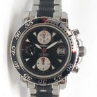 Montblanc Sport Chronograph Automatic Steel and Black Rubber...