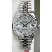 Rolex Datejust 178274 Midsize Stainless Steel Jubilee Hidden...