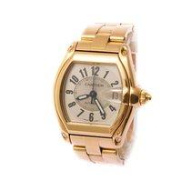 Cartier roadster 2524 gold/ gold bracelet