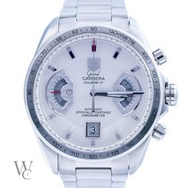 TAG Heuer Grand Carrera Chronograph Calibre 17 White Dial