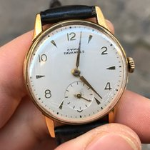 Cyma tavannes Oro Gold 33 mm manuale manual