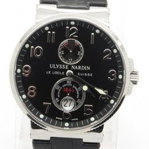 Ulysse Nardin Maxi Marine Chronometer Steel 263-66 New + Box...