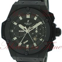 "Hublot Big Bang King Power ""Black Magic"" Split-Seconds..."