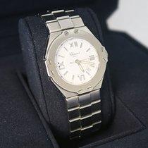 Chopard St. Moritz Ref. SM 51302 Damen Uhr Quarz in Stahl mit Box