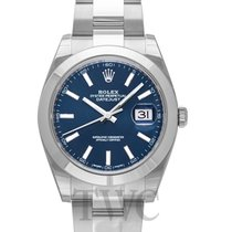 Rolex Datejust 41 Blue/Steel 41mm Oyster - 126300