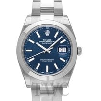 Rolex Datejust 41 Blue/Steel 41mm Oyster - 126300