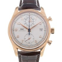 IWC Portugieser 42 Chronograph Silver Dial