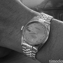 Rolex Datejust 36 mm Stahl/Gold Silver Roman Dial frisch...