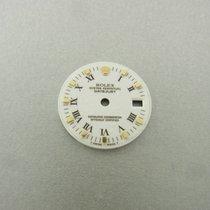 Rolex Datejust Gold Lady 26 Mm Zifferblatt White Roman Dial...