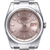 Rolex Oyster Datejust 36mm 116200 Pink Index