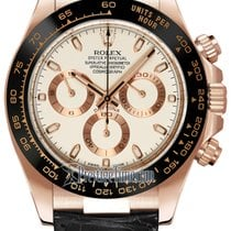 Rolex Cosmograph Daytona Everose Gold 116515LN Ivory Index
