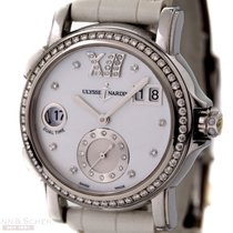 Ulysse Nardin Dual Time Lady Ref-243-22 Stainless Steel Box...