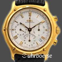 """Ebel Chronograph """"Le Modulor"""" Automatik Gelbgold 18kt um 2000"""