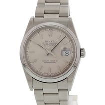 Rolex Datejust 16200 Rhodium Dial W/ Papers