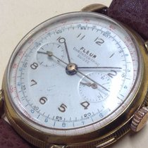 Fleur Chronographe Suisse Vintage Extremelly Rare Watch