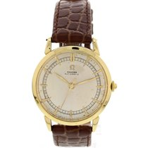 Omega Vintage Omega 18K Yellow Gold Automatic Watch