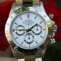 Rolex Mens Watch 18k Yellow Gold Daytona W S/n 1990's...