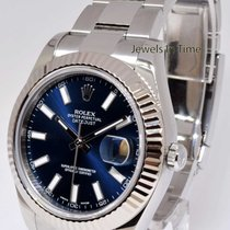 Rolex Datejust II 18k White Gold & Steel 41mm Watch...